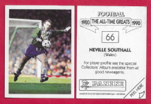 Wales Neville Southall Everton 66